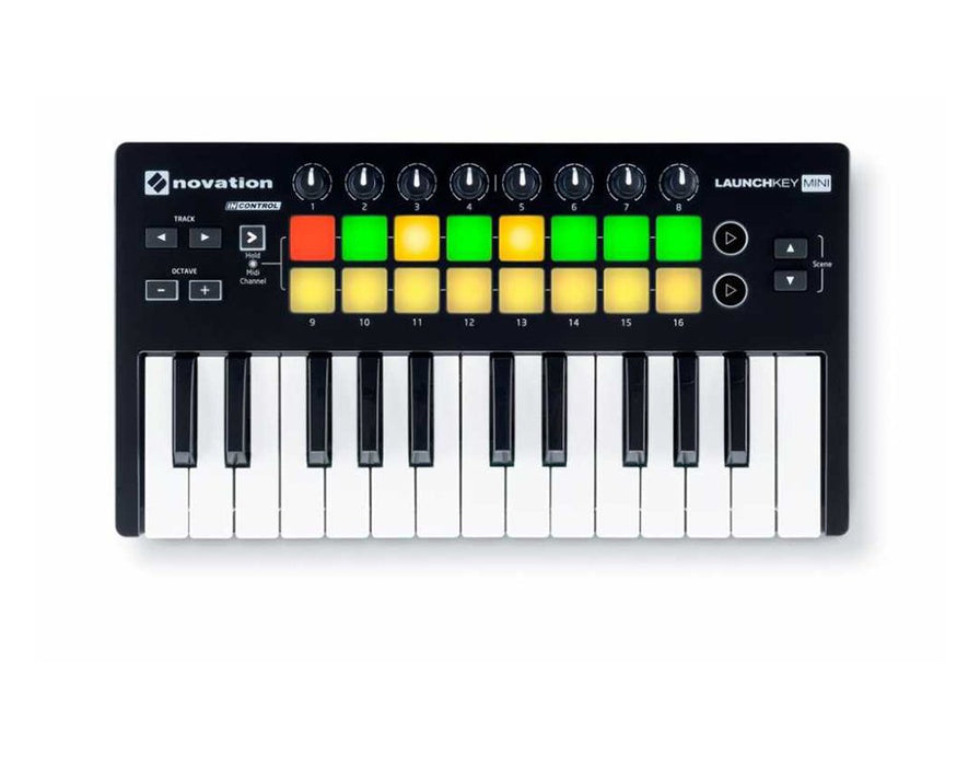 Novation Launchkey Mini MK2 25 Note Keyboard Controller