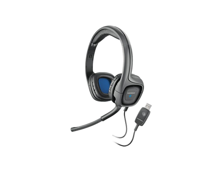 Plantronics AUDIO 655 DSP Support Computer Headset - Poundit
