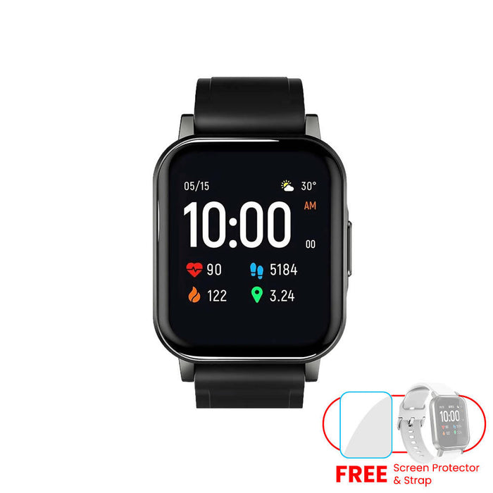 Haylou LS02 Smartwatch Fitness Tracker with Freebies