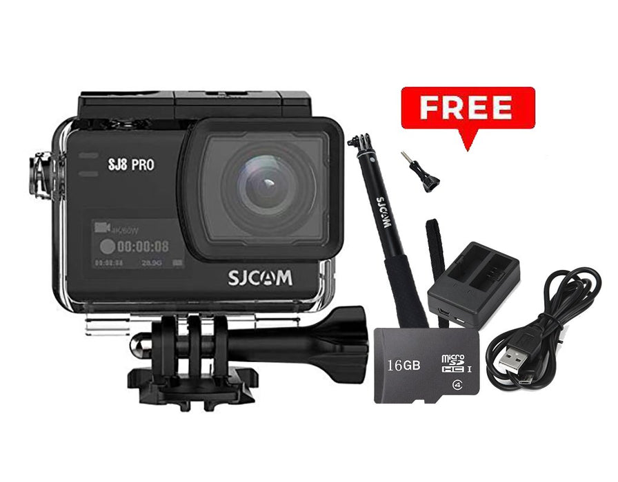 SJCAM SJ8 Pro with Freebies