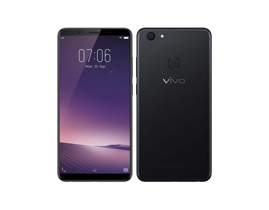 Vivo V7- Matte Black - Poundit