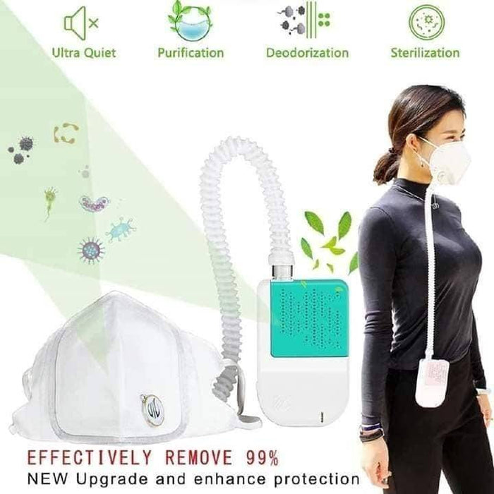 PERSONAL AIR FILTRATION SYSTEM (RECHARGEABLE)