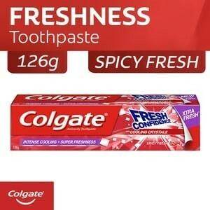 COLGATE (Fresh Confidence Spicy Fresh Gel Toothpaste with Cooling