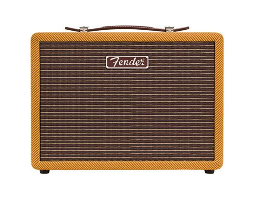 Fender Monterey Tweed Bluetooth Speaker- Brown Blonde