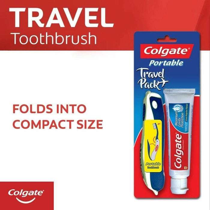 COLGATE (Portable Toothbrush With Free Toothpaste 25g)