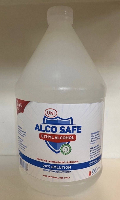 Alcosafe Alcohol 1 Galloon