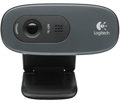 Logitech HD Webcam C270 + Headset - Poundit