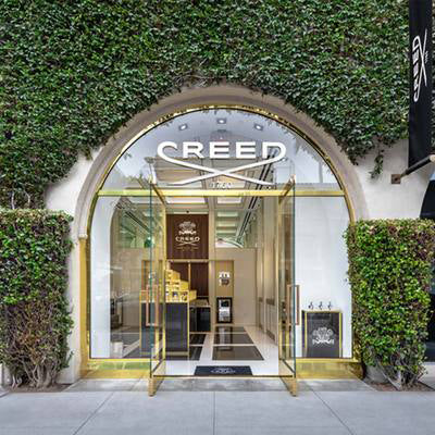 Facade view of Creed Boutique Beverly Hills