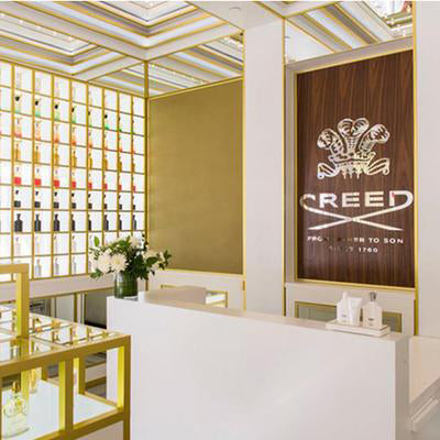 Storefront view of Creed Boutique Miami