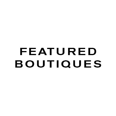 Featured Boutiques Sign