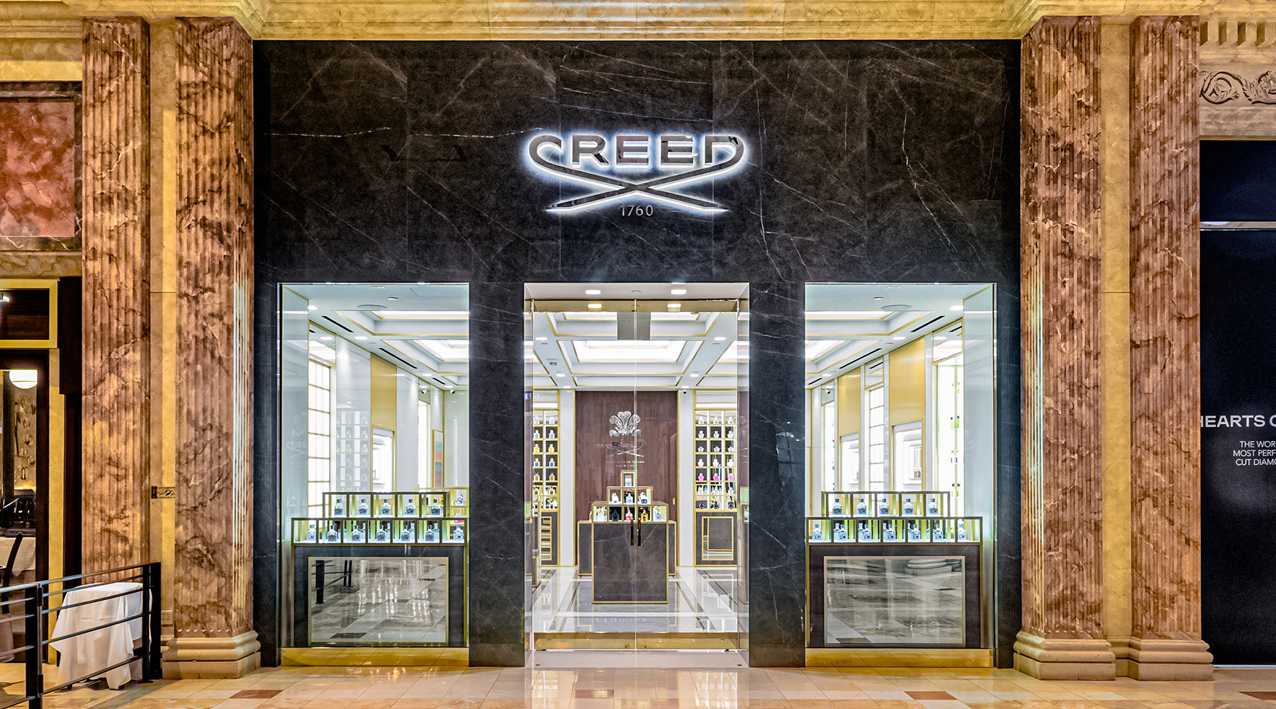 Creed Boutique Las Vegas Storefront