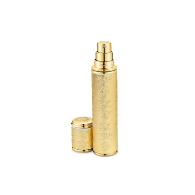 Gold With Gold Trim Pocket Atomizer