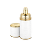 White With Gold Trim Deluxe Atomizer