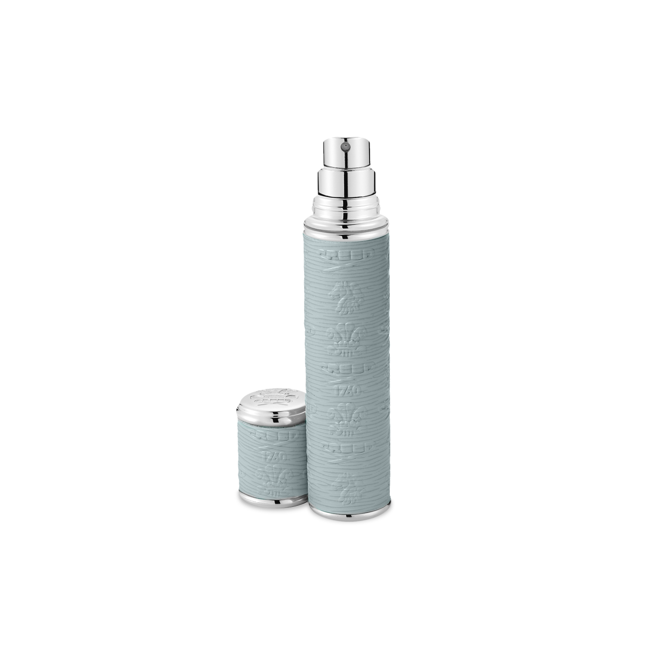 Grey With Silver Trim Pocket Atomizer