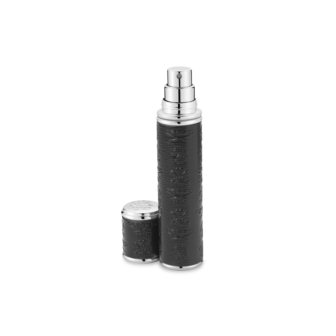 Black With Silver Trim Pocket Atomizer