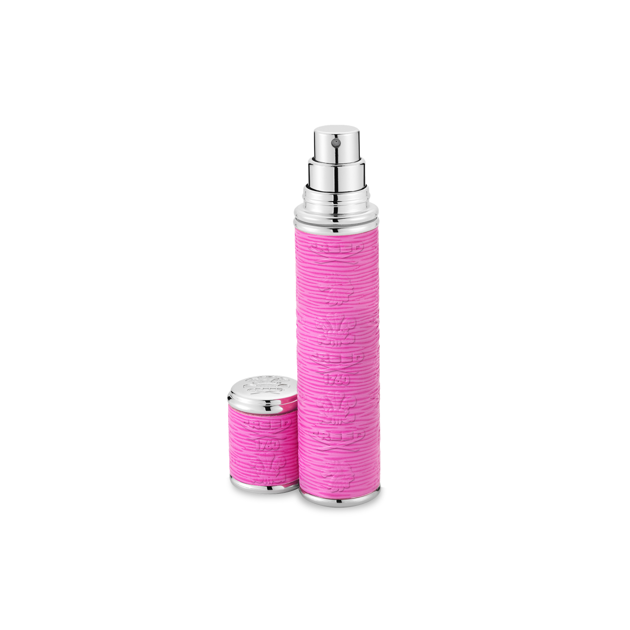 Dark Pink With Silver Trim Pocket Atomizer