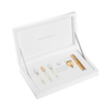 Gold and Silver Travel Atomizer Coffret For Her