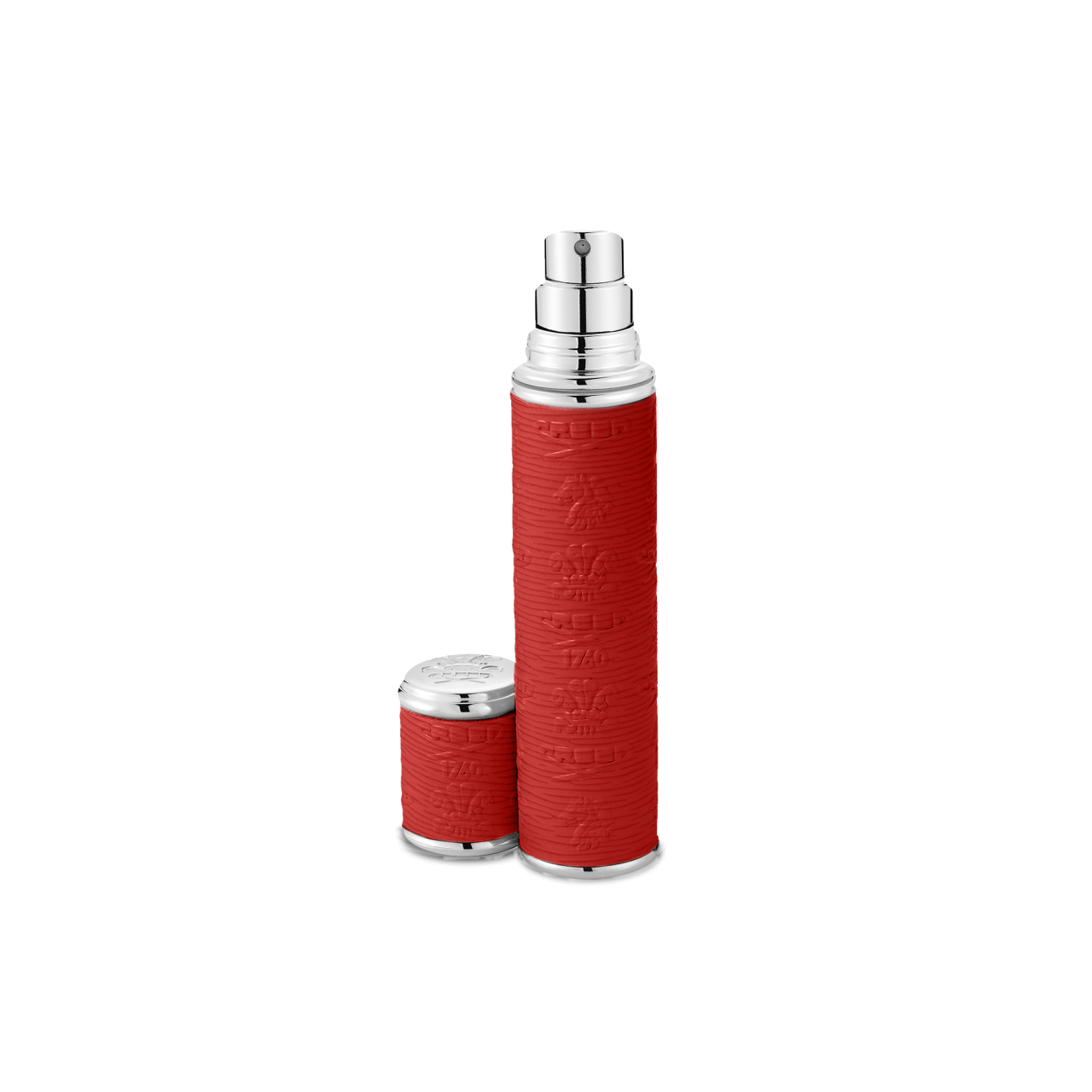 Red With Silver Trim Pocket Atomizer