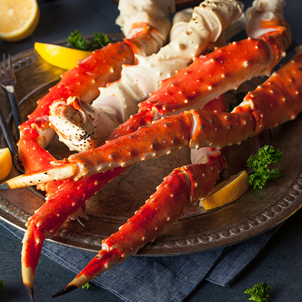 Alaskan King Crab Legs – Super Colossal