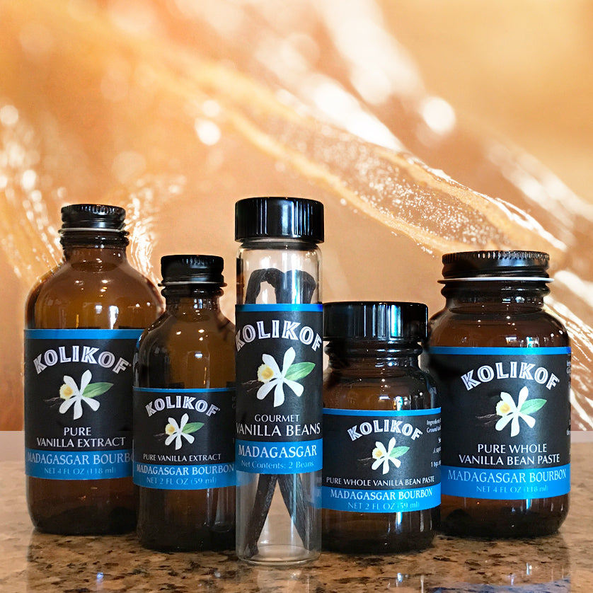 Kolikof is where to buy the best vanilla extract, beans and paste.