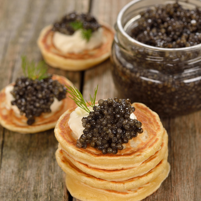 The best paddlefish roe and caviar can be bought at Kolikof