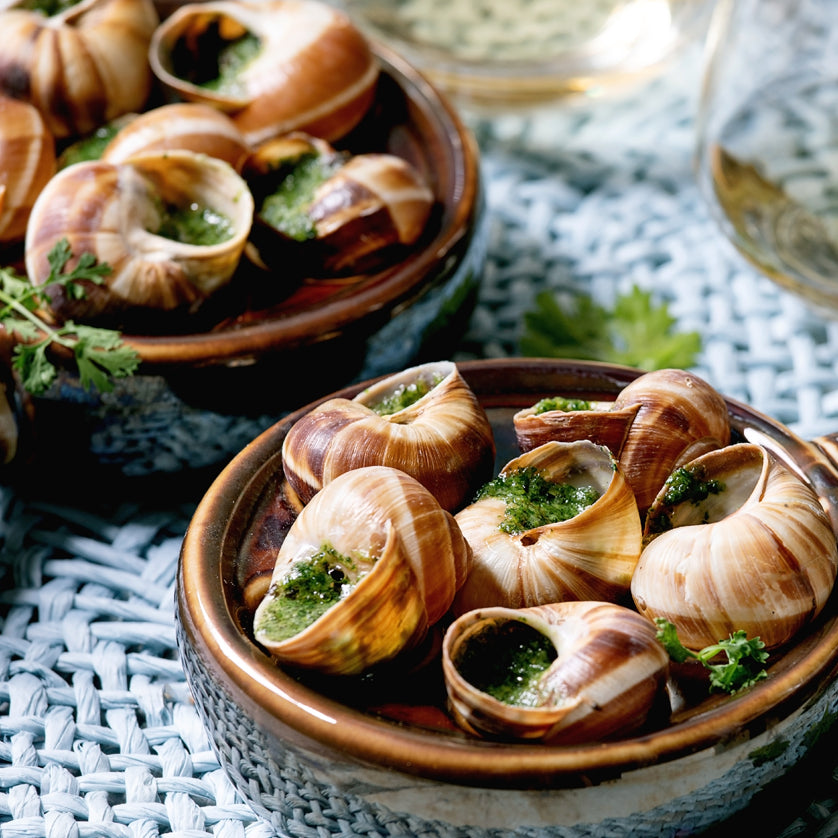 Escargot with Garlic Butter & Parsley