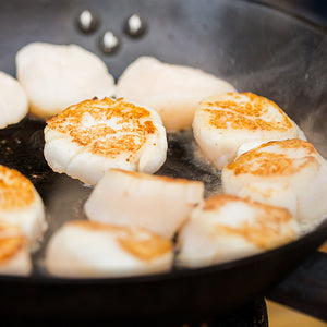 Buy Jumbo Sea Scallops at Kolikof. They are the best.