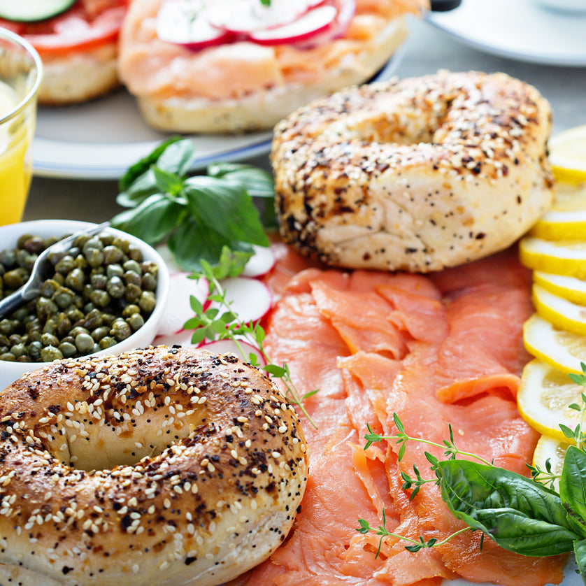 Best Salmon Bagel Brunch to Buy at Kolikof.com