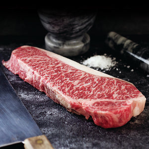 Grass-Fed Tajima Wagyu Beef – NY Strip Steak
