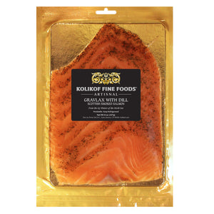 Scottish Salmon with Dill (Gravlax) at Kolikof.com