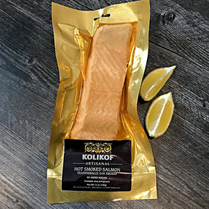 Hot Smoked Salmon for sale at Kolikof.com