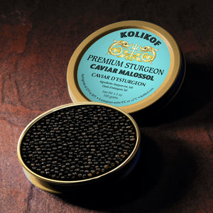 Sturgeon Caviar at Kolikof.com