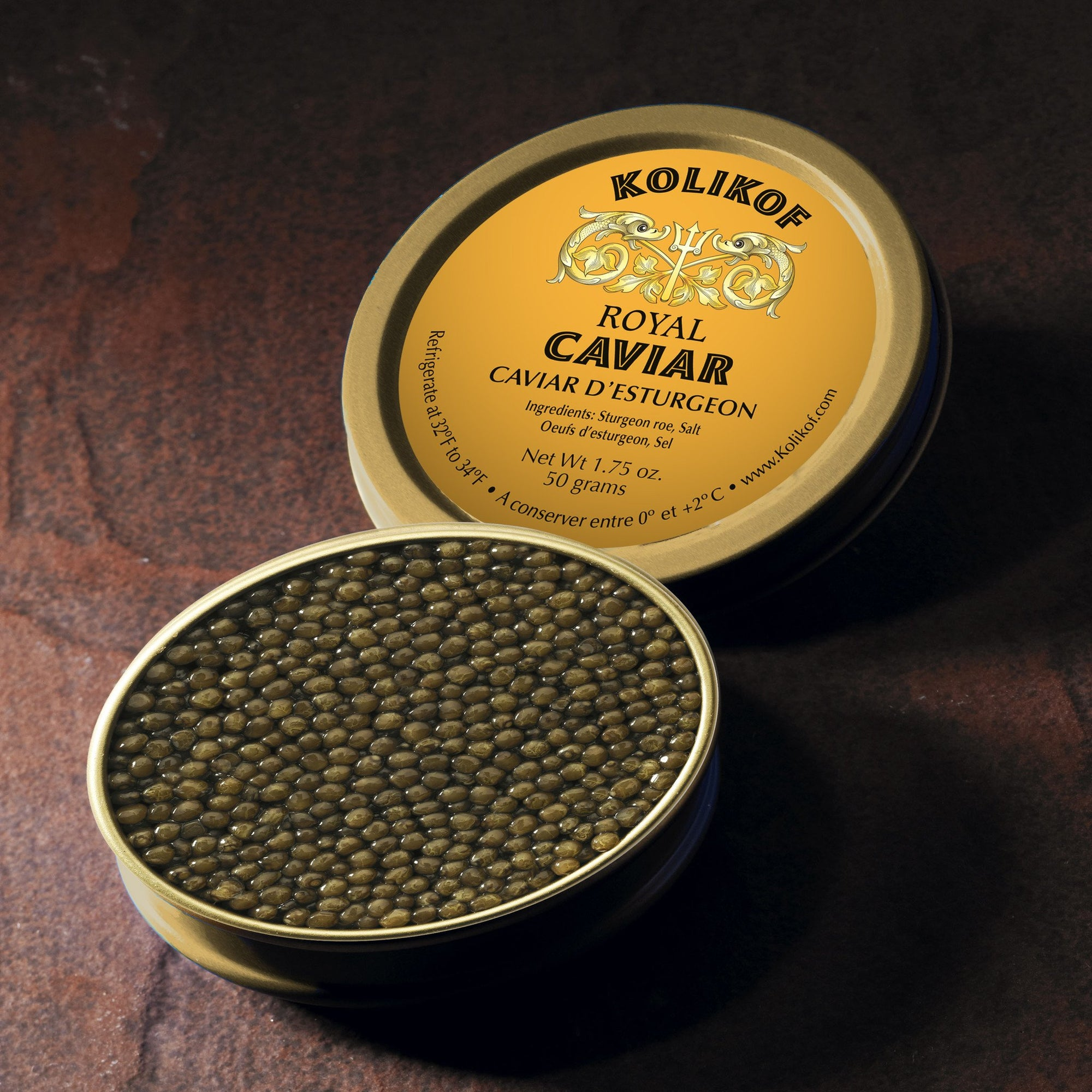 Best Royal Caviar. Kolikof Royal is the best caviar online.