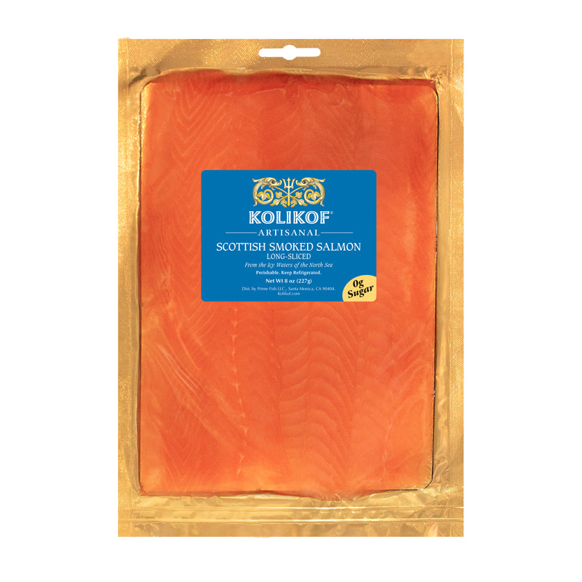 Sugar Free Smoked Salmon from Scotland at Kolikof