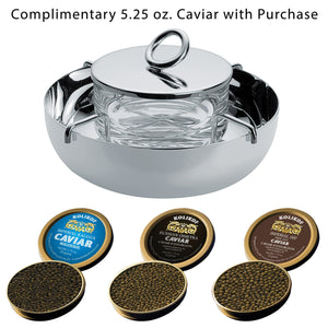 Christofle Vertigo Caviar Set (Large) and Kolikof Osetra Caviar