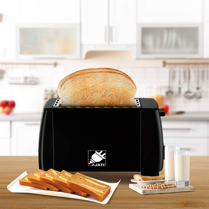 J-Jati 2 Slice Pop up Bread Toaster - 12/CASE