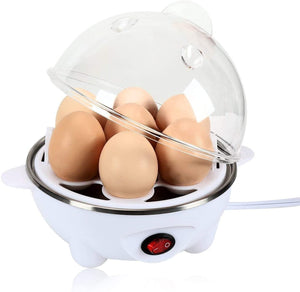 J-JATI Egg Boiler with measuring cup, 7 cup capacity