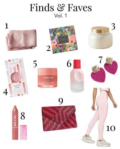 Gloss & Gold - Finds & Faves - Vol. 1
