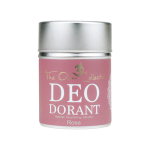 The Ohm Collection Deo Dorant Powder 120gr Rose