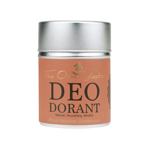 The Ohm Collection Deo Dorant Powder 50gr Royal Hawaiian Sandalwood