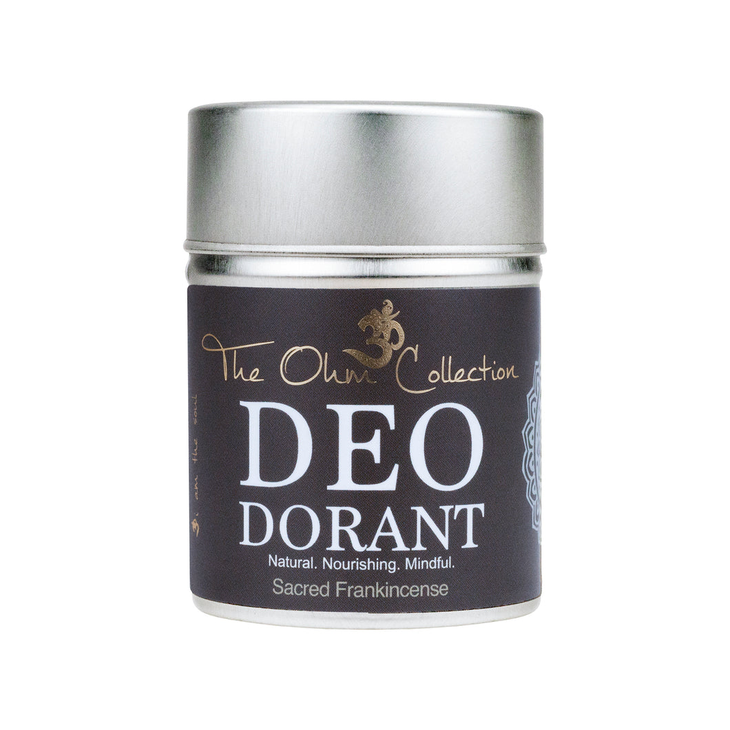 The Ohm Collection Deo Dorant Powder 50gr Sacred Frankincense