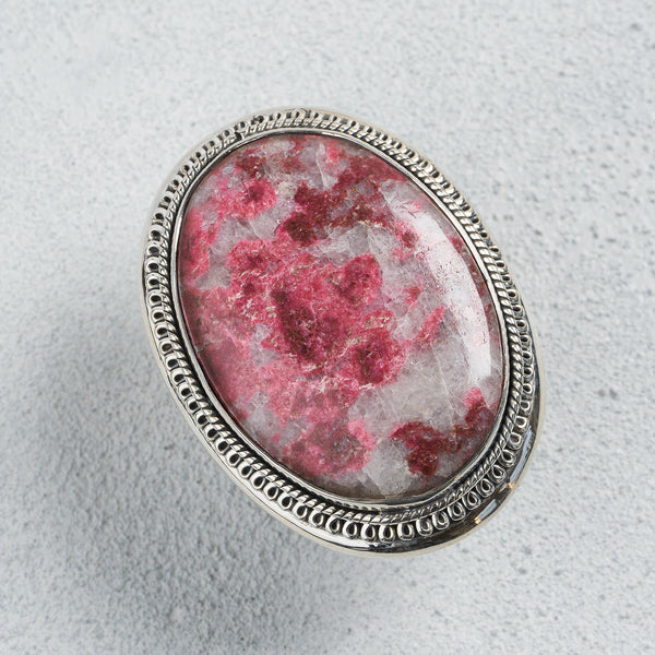 Ahava Thulite Ring | US 7 (UK O)