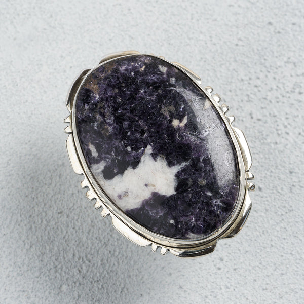 Andromeda Lepidolite Ring | US 9.5 (UK T)