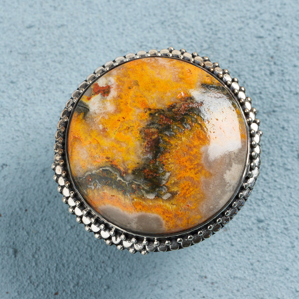 Gilda Bumblebee Jasper Ring | US 9.5 (UK T)