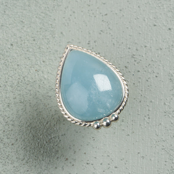 Cora Aquamarine Ring