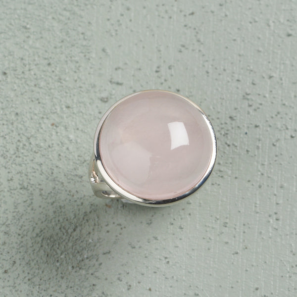 Alina Rose Quartz Ring