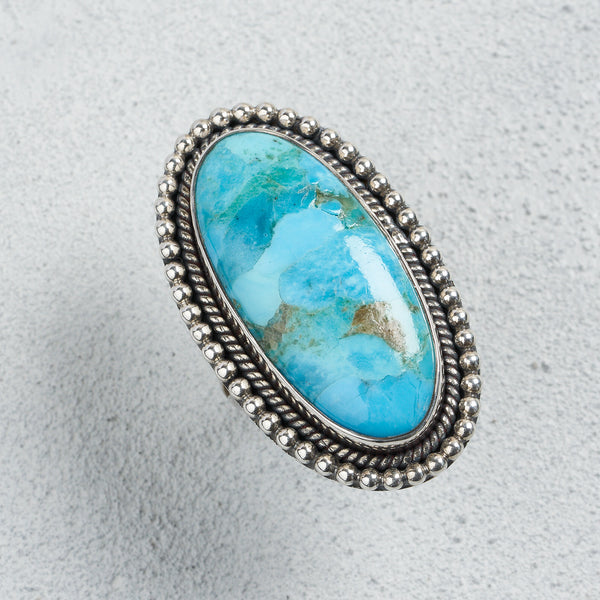 Aspen Turquoise Ring | US 8 (UK Q)