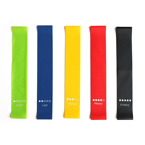 Booty Bands™ - 5 Pcs Strength Resistance Bands
