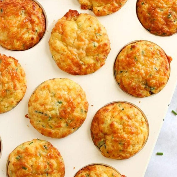 MUFFINS - BACON CHEESE & ONION