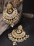 Bollywood Traditional Handmade high quality Kundan Earrings - FashionEmpire'86